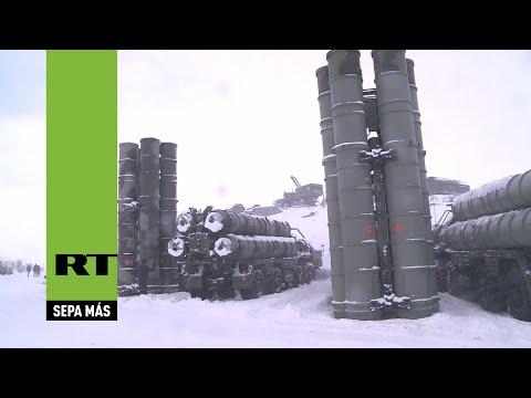 Rusia: El sistema antimisiles S-400 participa en las maniobras en Murmansk