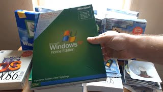 Unboxing: Old Microsoft Windows Operating Systems (I Spent $2,000! | Part 1)