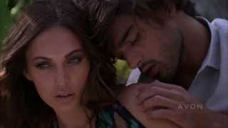 Marlon Teixeira with Megan Fox - Behind the Scenes Avon Instinct fragrance