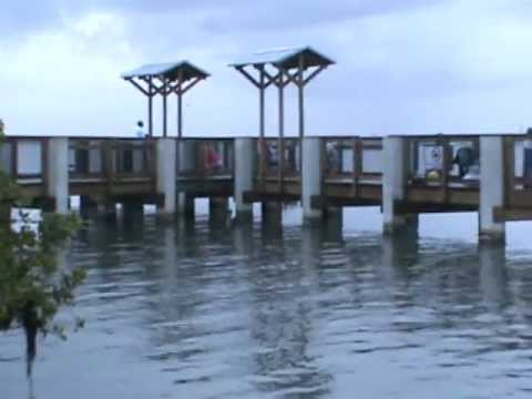 New Fishing dock at Sebastian Inlet
