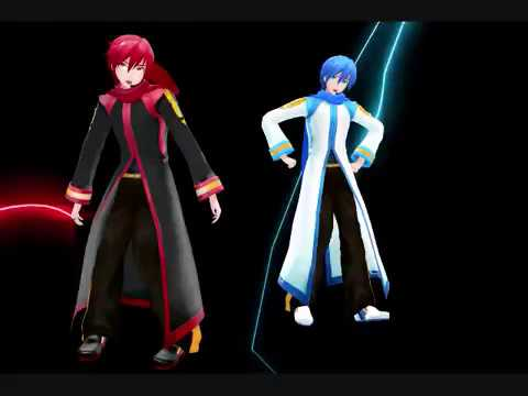 [MMD MME] Matryoshka [Kaito and Black Coat Akaito]