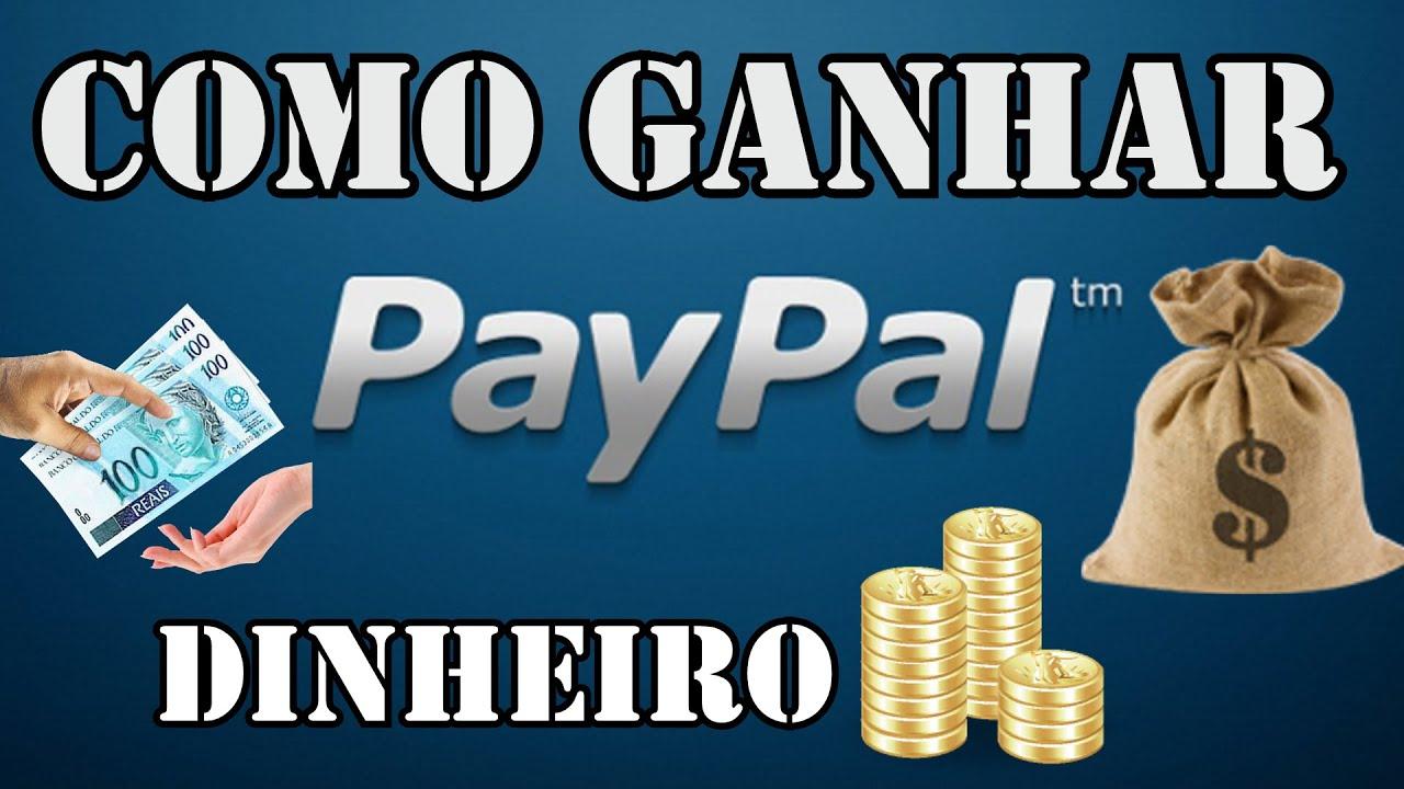 Resultado de imagem para Como ganhar dinheiro no PayPal de graça - Tutorial