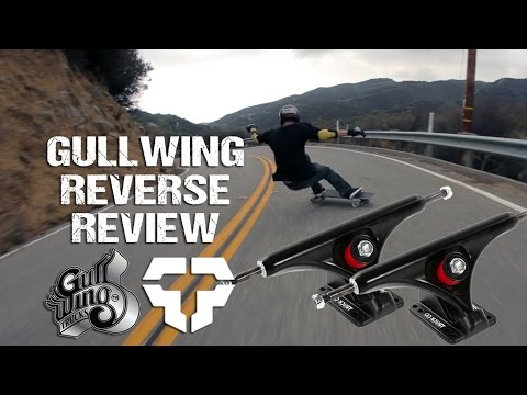 Gullwing Reverse Longboard Trucks Rider Review - Tactics.com
