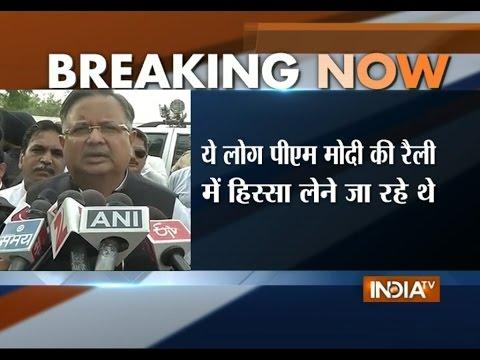 Chhattisgarh CM Raman Singh Condemns Maoist Attack in Dantewada