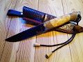 015. Knife 'Injun' - Нож 'Индеец' из х12мф