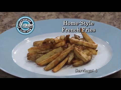 How to prepare Home style Fries in your NuWave Oven