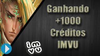 IMVU - Ganhando +1000 Créditos 2015 |Zhwe