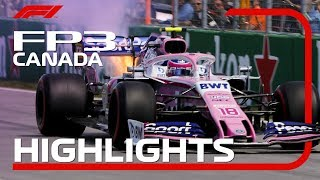 2019 Canadian Grand Prix: FP3 Highlights