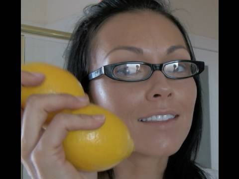 The Skin Doctor: LEMON TRICK