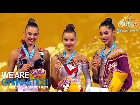 2018 Rhythmic Worlds Sofia – Hoop and Ball Finals, Highlights – We are Gymnastics !