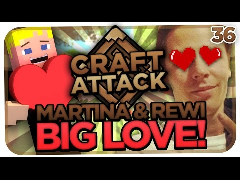 CRAFT ATTACK S2 #36 - MARTINA & REWI! BIG LOVE! TWITTER FRAGEN :3 [MINECRAFT] [HD]