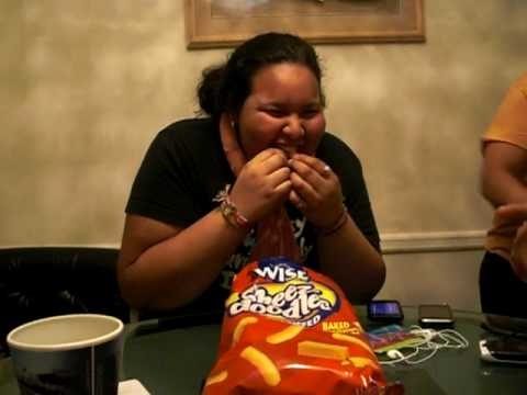 How many cheetos can you put in your mouth?