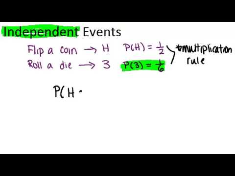 Independent Events and Sample Spaces Principles