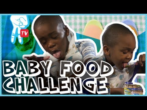 Baby Food Challenge - Crazy I Say Ep 43