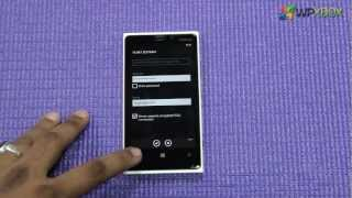 How to Setup Email Account, Sync Contact & Calendar in Windows Phone 8.
