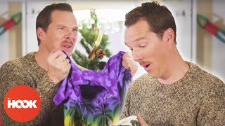 Benedict Cumberbatch Teaches How to React to Bad Xmas Gifts | The Hook