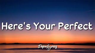 Download lagu Here's Your Perfect - Jamie Miller (Lyrics) 🎵
