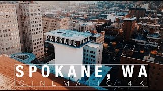 Spokane, Washington  [4K Drone]