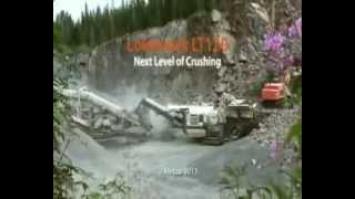 Mobile Jaw Crusher Metso Minerals Lokotrack LT120
