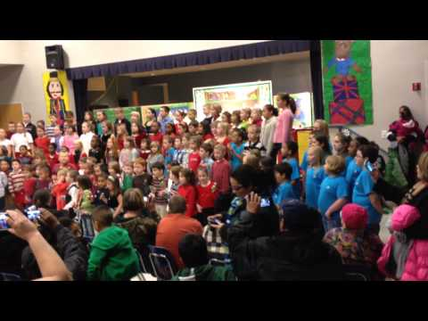 Tye River Elementary School Holiday Concert 2013 - Show Finale