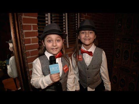 Elias and Zion Meet Kristen Bell!
