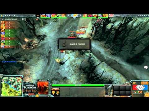 G League Semi Final - LGDint vs TongFu - Game 2 Part 1