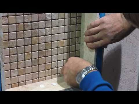 How to install ceramic tile in shower