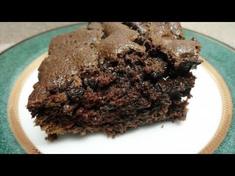 One bowl chocolate, chocolate chip cake