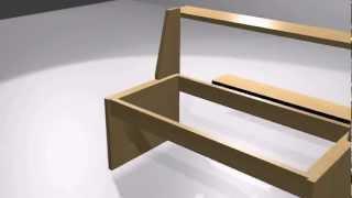 play einen picknick tisch selber bauen bauanleitung. Black Bedroom Furniture Sets. Home Design Ideas