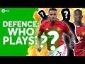 The HUGE Manchester United DEFENCE DEBATE! Players & Tactics