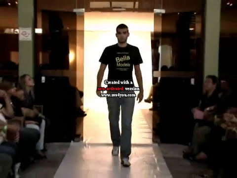 BELLA MODELS FASHION-DESFILE MASCULINO