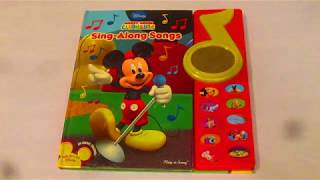 "DISNEY Mickey Mouse Clubhouse ""Sing-Along Songs"" Play-A-Song"