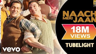 Naach Meri Jaan - Lyric Video| Salman Khan | Sohail Khan | Pritam | Tubelight