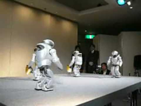 Dancing Sony Robots Video