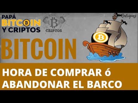 Bitcoin: Comprar ó abandonar el barco