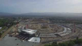 Apple Campus 2 Drone in 4K!