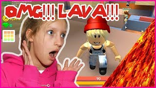 OMG Almost Fell in the LAVA!