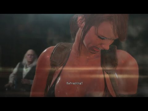 Metal Gear Solid 5 Phantom Pain Quiet Tortured (Explains Why She Doesn't Speak)