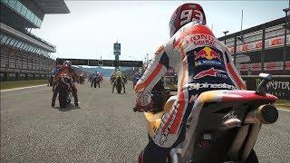 MotoGP 17 - Honda RC213V - Test Ride Gameplay (PC HD) [1080p60FPS]