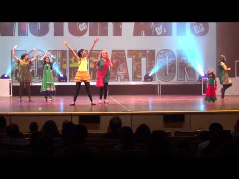 Shiamak Vancouver - Summer Funk 2014- Dda Richmond- Dil Garden Garden video