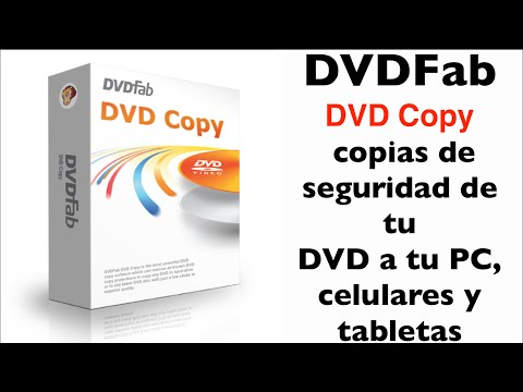DVDfab DVD Copy - C�mo pasar tus DVD a dispositivos m�viles, tabletas y PC