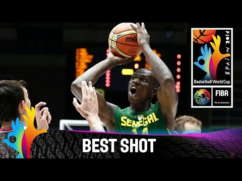Croatia v Senegal - Best Shot - 2014 FIBA Basketball World Cup