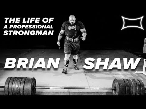 What Does It Take To Be WORLD'S STRONGEST MAN? Brian Shaw Talks Commitment, Food, & Training