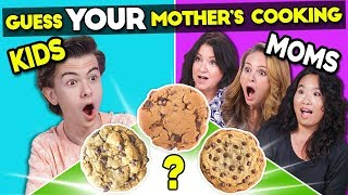 Kids Try Guessing Their Mother's Cooking