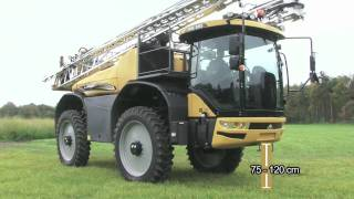 The New Challenger RoGator 600 -  Self-Propelled Sprayer working in German & Holland.