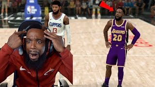 LAKERS vs CLIPPERS SEASON OPENER! NBA 2K20 MyCareer Ep 15