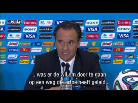 Prandelli: ik ben verantwoordelijk | WK Voetbal 2014
