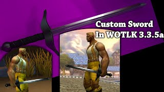 Vlogstream - Wow 3.3.5a - Unique Custom Weapon Model