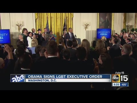 Obama signs LGBT executive order