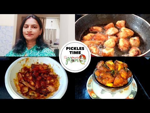 Indian Mom Sunday Special || Vlog ||Chicken Pickle Recipe